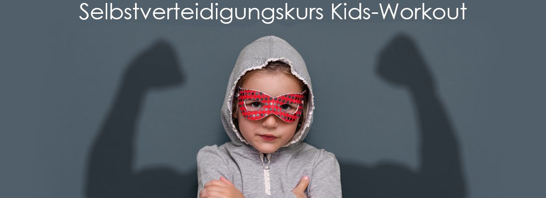Selbstverteidigungskurs Kids-Workout